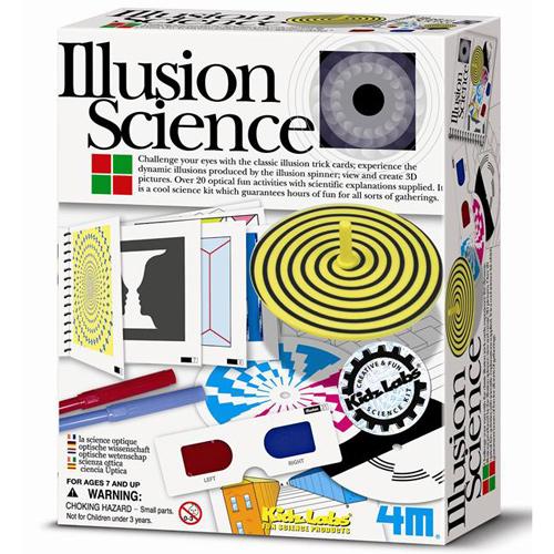 ^( 車^)~4M科學探索~Illusion Science 幻象魔術師