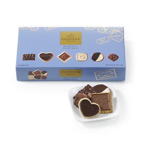 【 GODIVA】精選巧克力餅乾禮盒23片裝