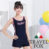 【夏之戀TRAVEL FOX】顯瘦款長版三件式泳衣(C15716)