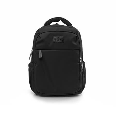 AIRWALK - 晴艷彩耀極輕便隨掛行李箱拉桿之旅行後背包 - 國度黑(品特)