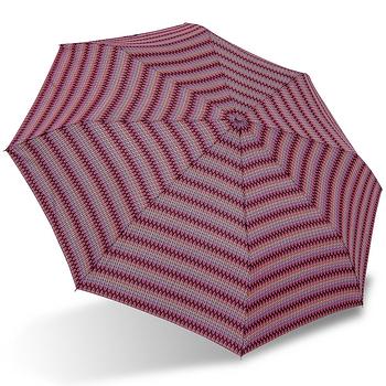 【rainstory】幾何織紋(桃紅)抗UV雙人自動傘