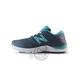 (女)NEW BALANCE 訓練鞋 灰/蒂芬妮綠-WX711GR2