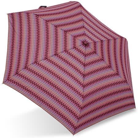 【rainstory】幾何織紋(桃紅)抗UV輕細口紅傘
