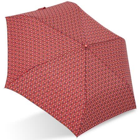 【rainstory】田園小花(橘紅)抗UV輕細口紅傘