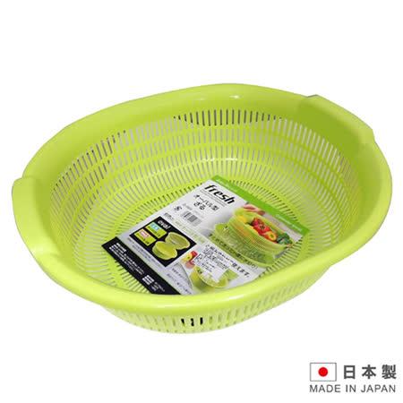 日本製造 洗物瀝水盆-綠色 SAN-D5524