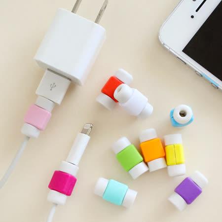 【PS Mall】創意蘋果專用手機數據線 iphone 專用耳機線保護套_3個 (J956 )