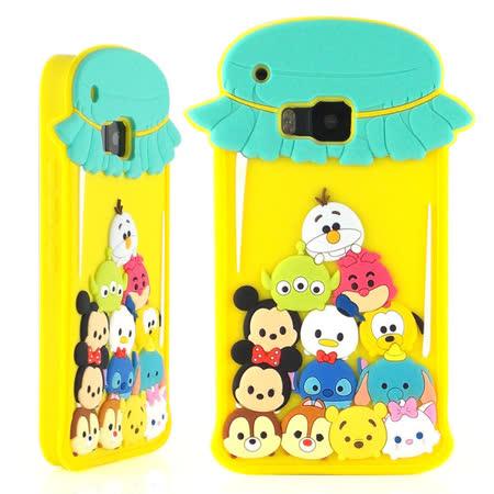 Disney HTC One M9 TSUM TSUM 可愛2D立體保護套-糖果罐