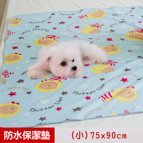 ~奶油獅~ ~搖滾星星DINTEX超防水止滑保潔墊尿布墊寵物墊^(小75^~90cm^)~