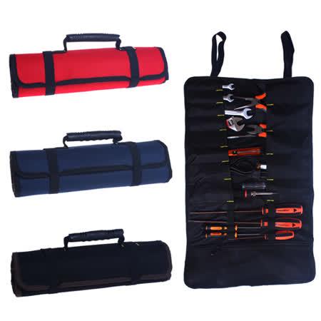 多功能捲筒式工具收納袋/電工包/野營工具袋