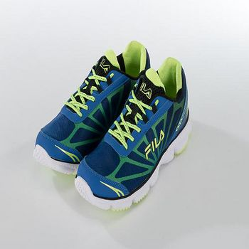 FILA BLAST 輕量運動慢跑鞋 藍/黃 US 8- 11