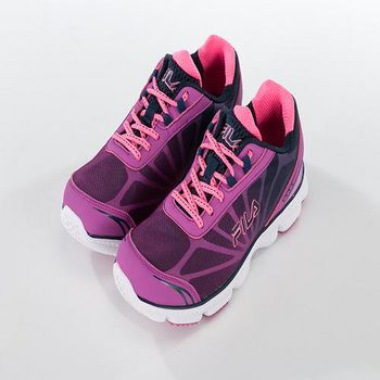 FILA ?BLAST 輕量運動慢跑鞋 紫/粉 US 6 - 7.5