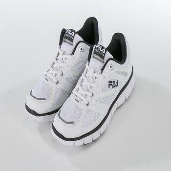 FILA FEATHERLITE 輕量慢跑鞋 白/黑 US 8-10 11