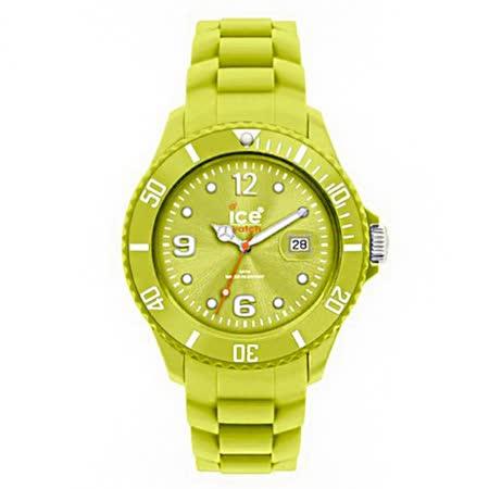 ICE-Watch FOREVER系列 永恆矽膠腕錶-蘋果綠/48mm(5ATM)