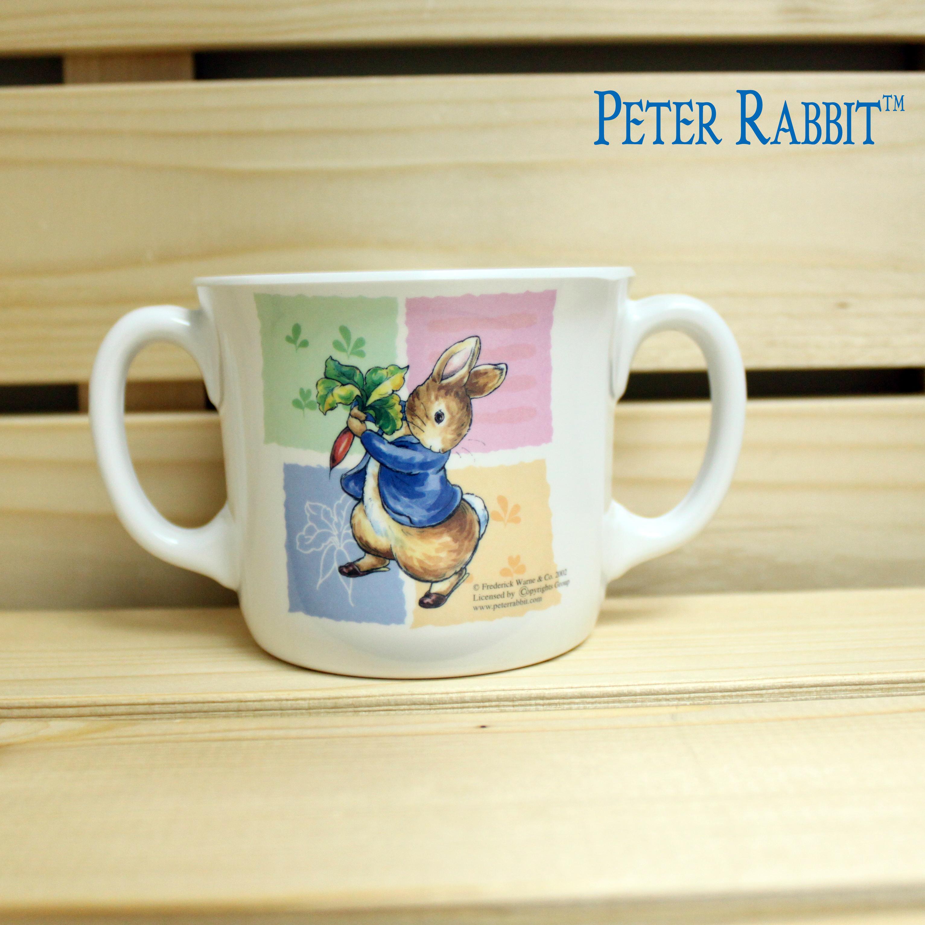~クロワッサン科羅沙~Peter Rabbit 比得兔美耐皿湯杯3.5吋 C3432