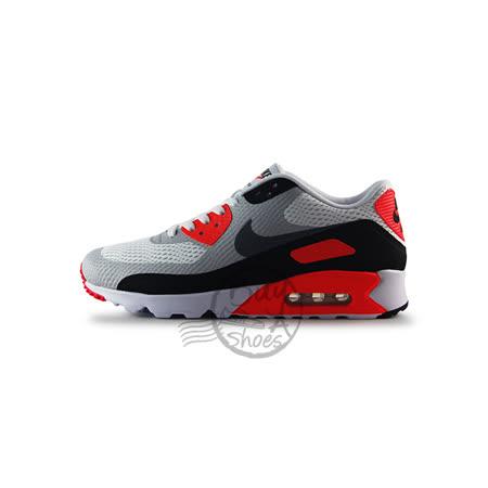 (男)NIKE AIR MAX 90 ULTRA ESSENTIAL 復古鞋 白/灰/紅-819474106