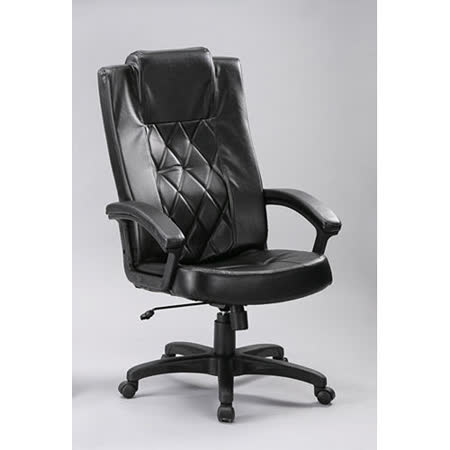 C&B科隆高背主管辦公皮椅-附頭枕