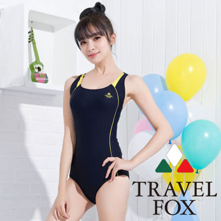 【夏之戀TRAVEL FOX】競泳款連身三角泳裝(C15724)