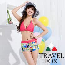 【夏之戀TRAVEL FOX】夏日風情比基尼三件式泳衣(C15726)