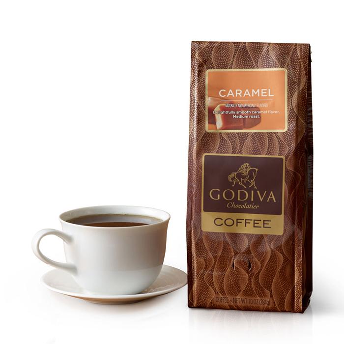 ~GODIVA~焦糖味咖啡粉^(284公克^)