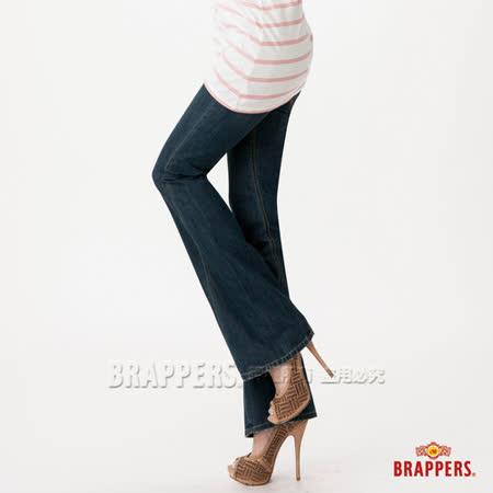 (女)BRAPPERS 女款 女垮褲系列-女用3D垮褲-經典藍
