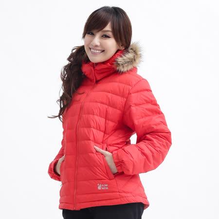 【遊遍天下】 JIS90%羽絨可拆帽防風防潑水外套(桔色)(品特)