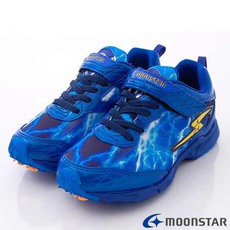 日本Carrot競速童鞋-創新閃電爆發競速款SSJ6695藍-(19cm-24cm)