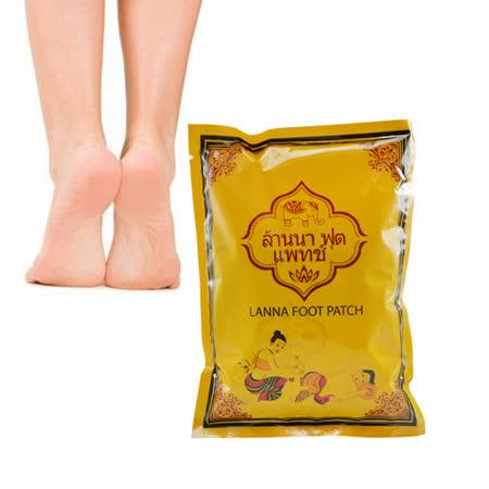 泰國熱銷 LANNA 蘭納 足貼/足膜 (10片/包)
