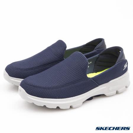 SKECHERS (男) 健走系列 Go Walk 3 - 54045NVY