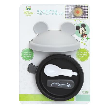 日本 迪士尼 Disney 米奇攜帶式造型碗+匙