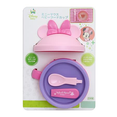 日本 迪士尼 Disney 美妮攜帶式造型碗+匙