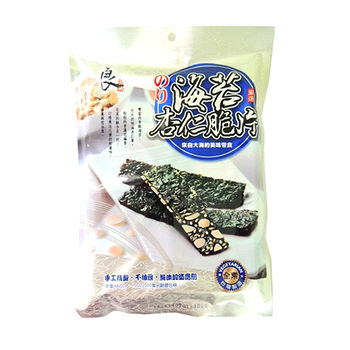 良澔海苔杏仁脆片40g