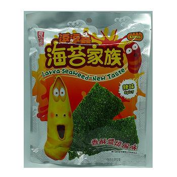逗逗蟲香酥醬燒海苔 辣味8g