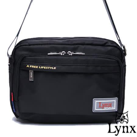 【私心大推】gohappy 購物網Lynx - 山貓城市悠遊款輕便機能橫式側背包-質感黑有效嗎加州 風 洋食 館 台中