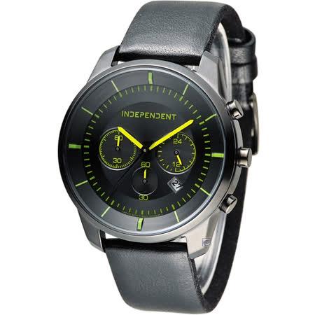 INDEPENDENT 潮流玩酷炫彩計時腕錶 KF5-144-52