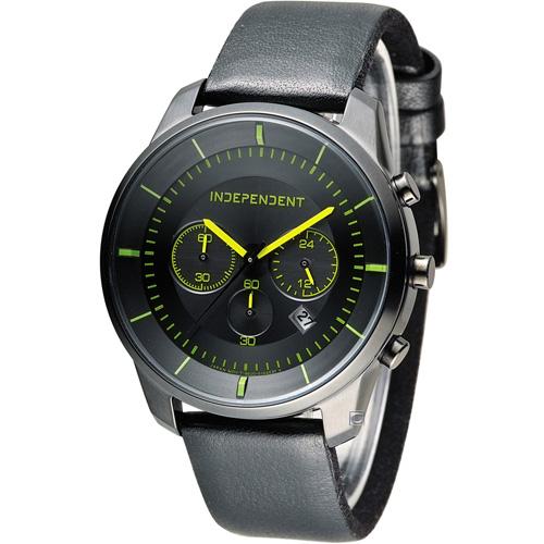 INDEPENDENT 潮流玩酷炫彩計時腕錶 KF5~144~52