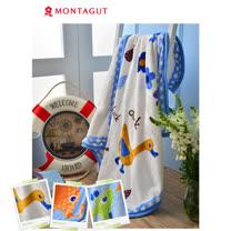 法國夢特嬌MONTAGUT 雙層法蘭童毯(長頸鹿/大象/鴨子)