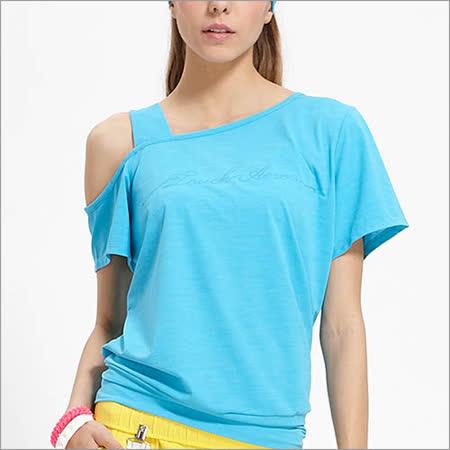 【TOUCH AERO】性感斜肩寬版T恤 TA542                           (此款為加大型尺寸)
