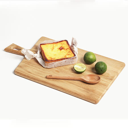 【Homely Zakka】木趣食光木質砧板(06方把長方)