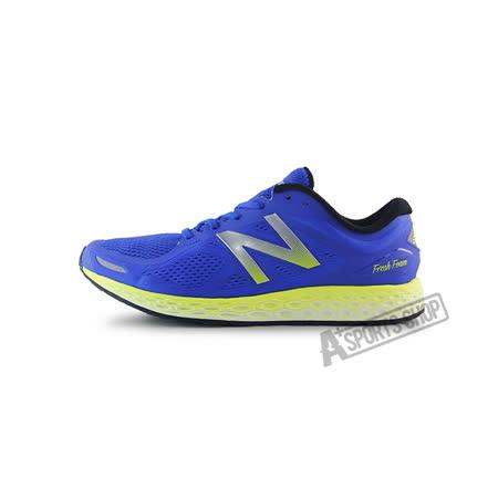 (男)NEW BALANCE 慢跑鞋 寶藍/螢光黃-MZANTGA2