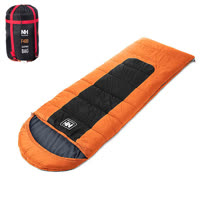 PUSH! 登山戶外用品 帶帽型睡袋四季空調被可拼接睡袋標准版P29