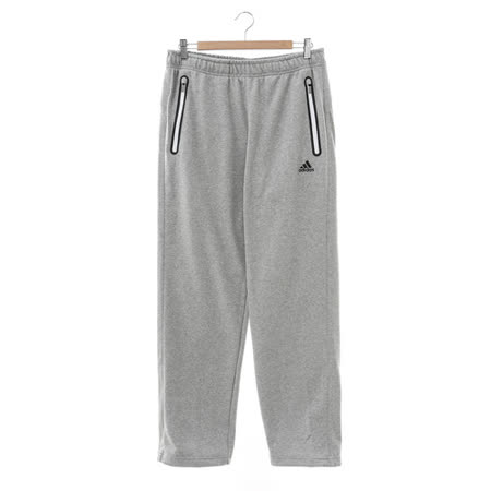 adidas(男)運動長褲-灰-AH5520