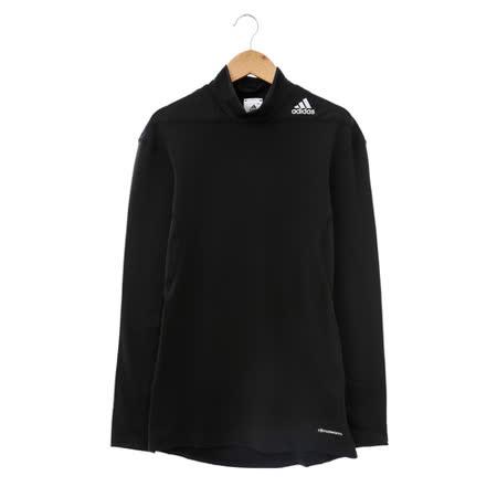 adidas(男)緊身衣(長)-黑-D82112