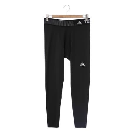 adidas(男)緊身長褲-黑-D82125