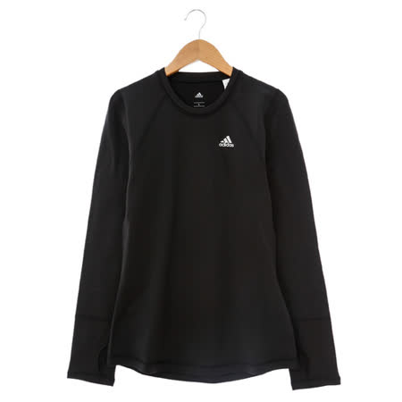 adidas(女)緊身衣(長)-黑-AA6708
