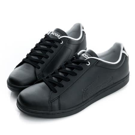 LACOSTE(女)休閒鞋-黑-PJ0002-2A2