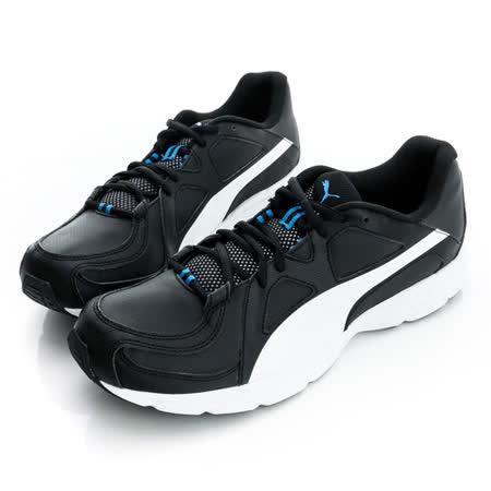 PUMA(男)慢跑鞋-黑/白-35773014