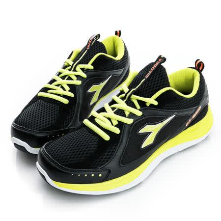 DIADORA(男)慢跑鞋-黑-DA5AMR2650