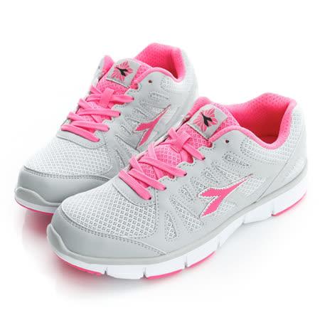 DIADORA(女)慢跑鞋-灰-DA5AWR2828