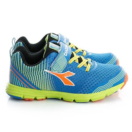 DIADORA(童)慢跑鞋-藍-DA6AKR3036