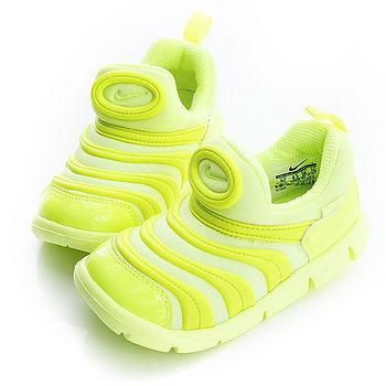 NIKE(童)毛毛蟲 慢跑鞋-螢光-343938702